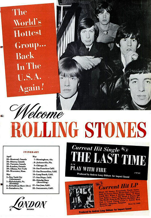 Stones ad 1965 Baby Boomers Retiring: The Biggest Bang